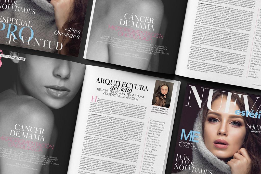 Revista Nueva Estética. Gemma Micropigmentació